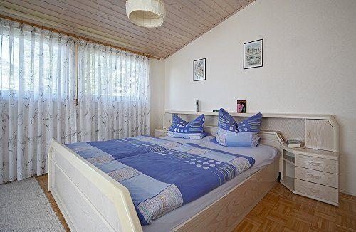 Ferienwohnung A - Schlafzimmer